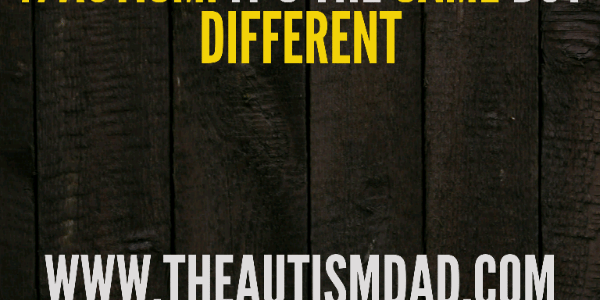 #Autism: It's the same but different
