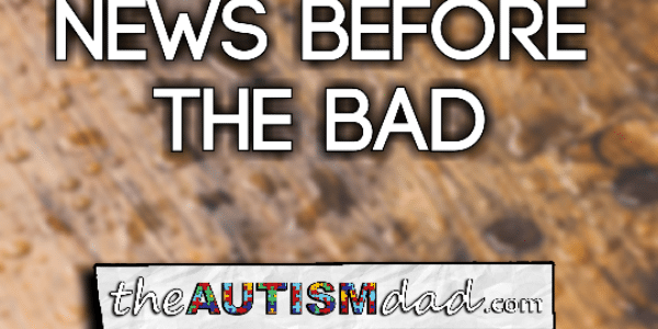 The good news before the bad