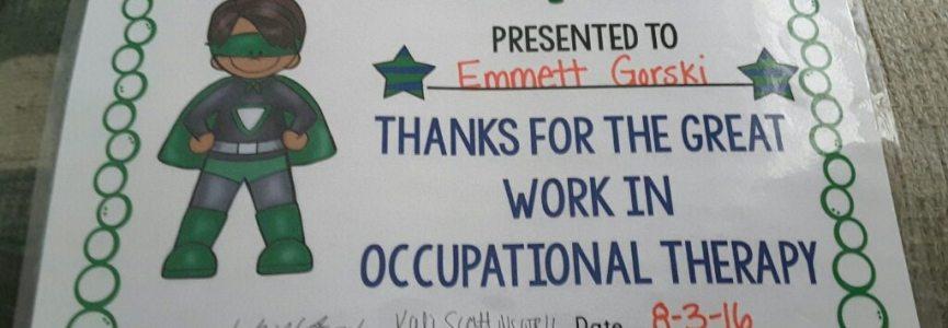 Congratulations Mr. Emmett, I'm so proud of you