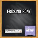 Fricking irony