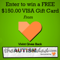 Enter to win a FREE $150.00 VISA Gift Card