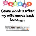 UPDATE: Seven months after my wife moved back home…..