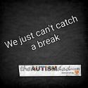We just can't catch a break