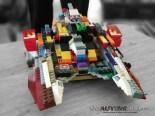 #Autism and #Legos: Gavin's latest Creation