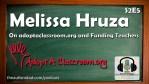 Melissa Hruza on adoptaclassroom.org and funding teachers? (S2E5)