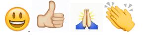 positive symbols