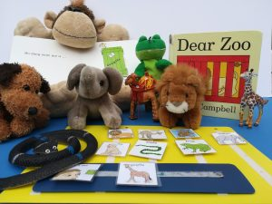 Dear Zoo reading with your child