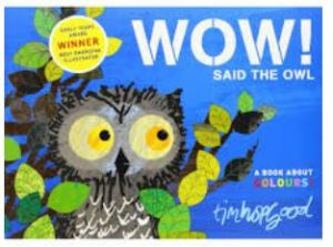 Wow said the owl, 100 books for under 5's