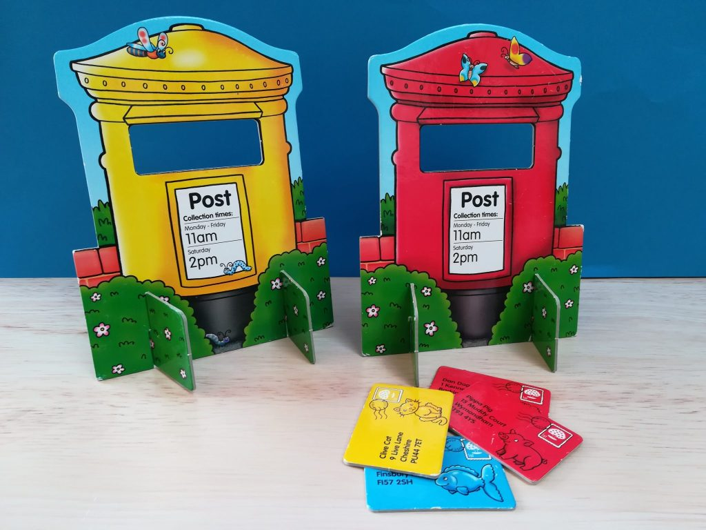 Orchard Toys Post Box, Teacch at home