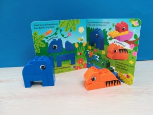 Duplo gift set jungle. Teacch at home