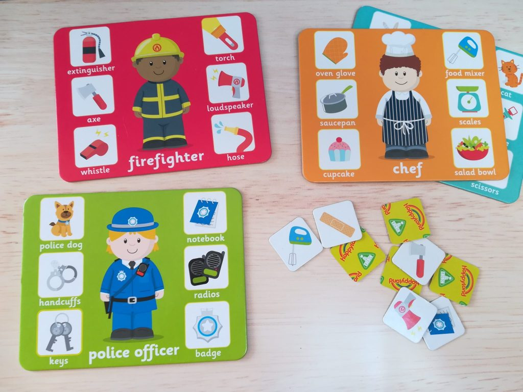Happy land character game