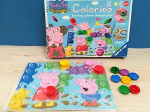 Peppa Pig Colorino, Teacch at home