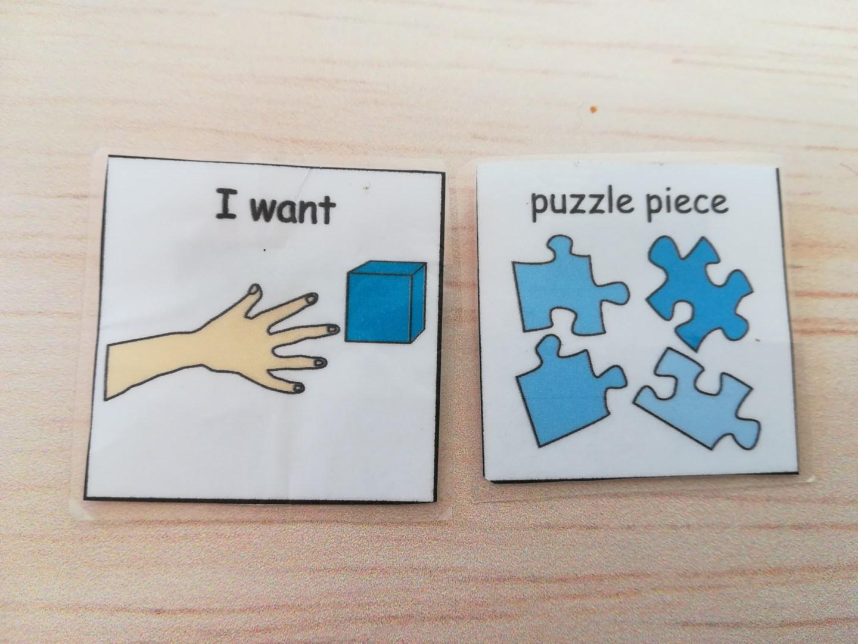 I want Puzzles, PECS, Puzzles and autism