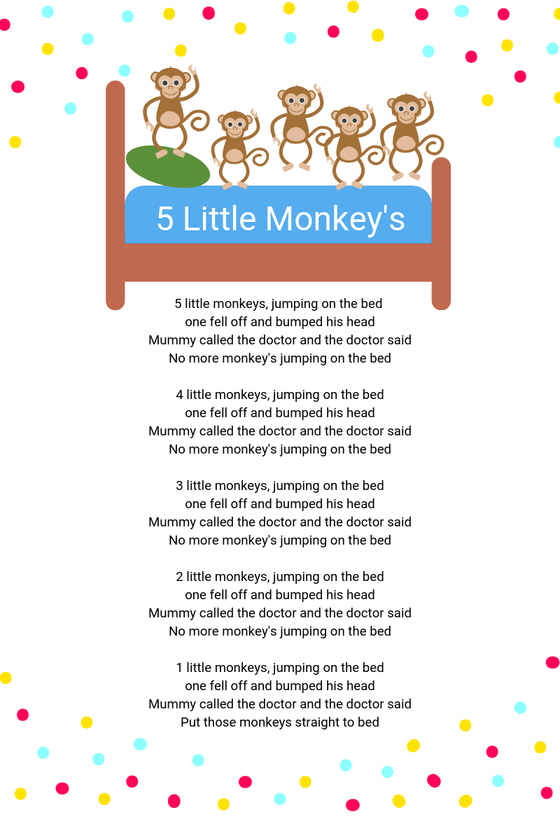 5 Little Monkey's