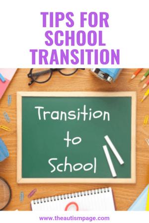 School Transition Pin