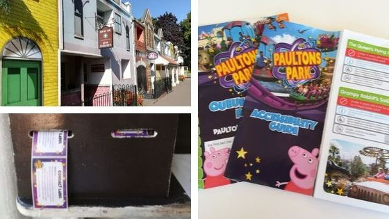 Peppa pig world with autistic children