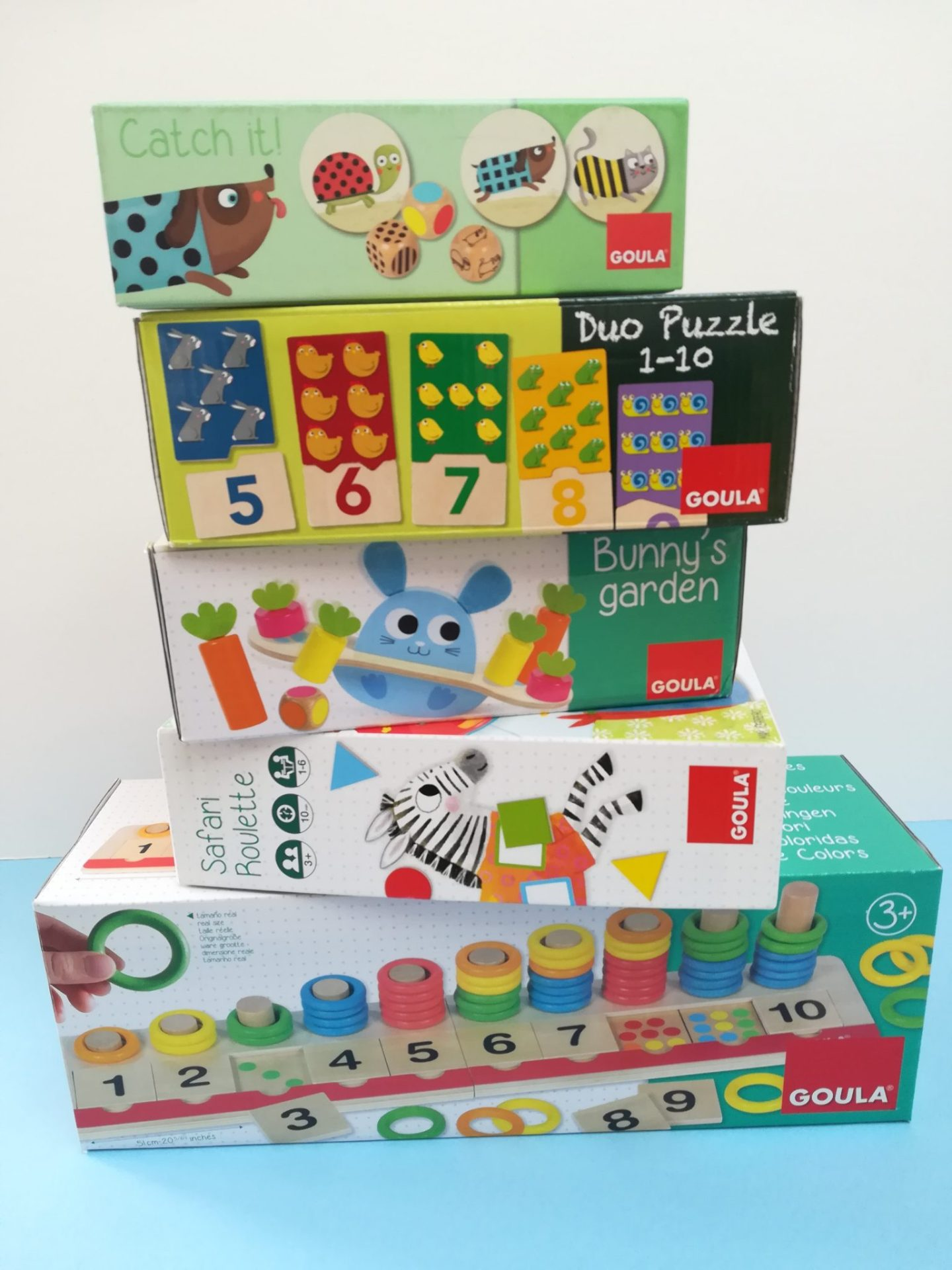 Goula Range from Jumbo Games