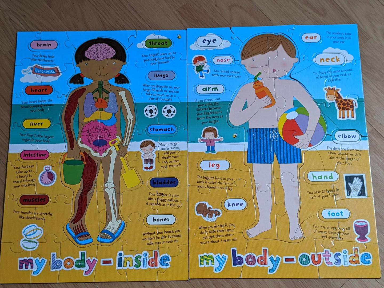 My body puzzle