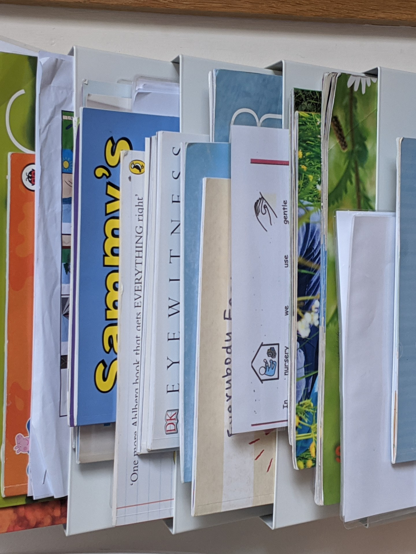 social stories visual aid books