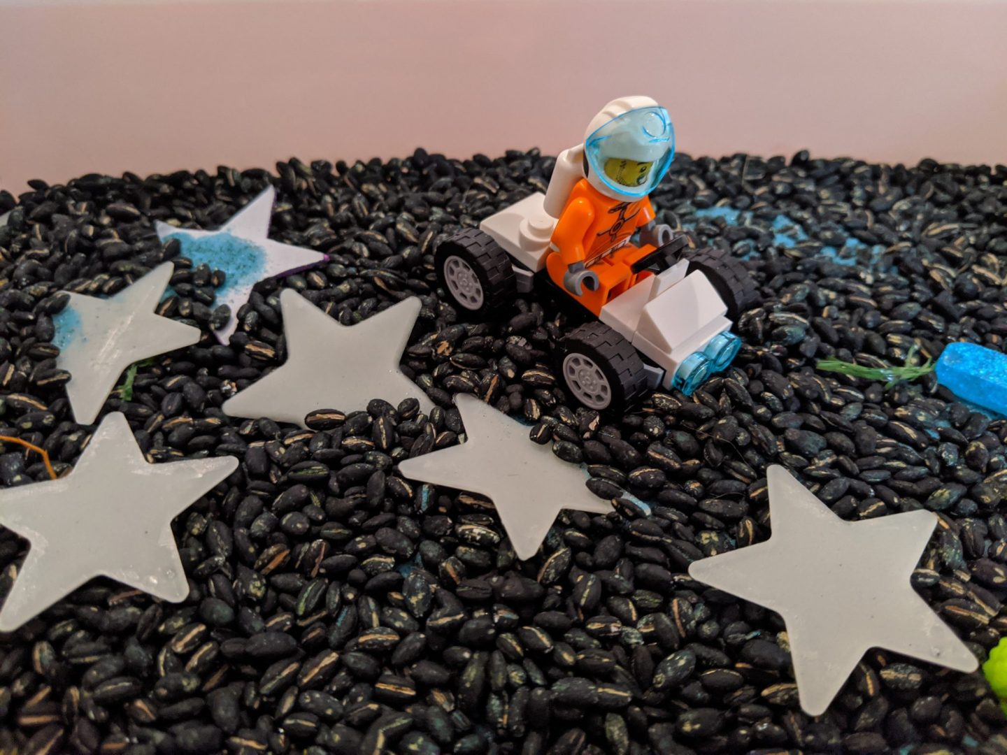 Early years: learning about space through play