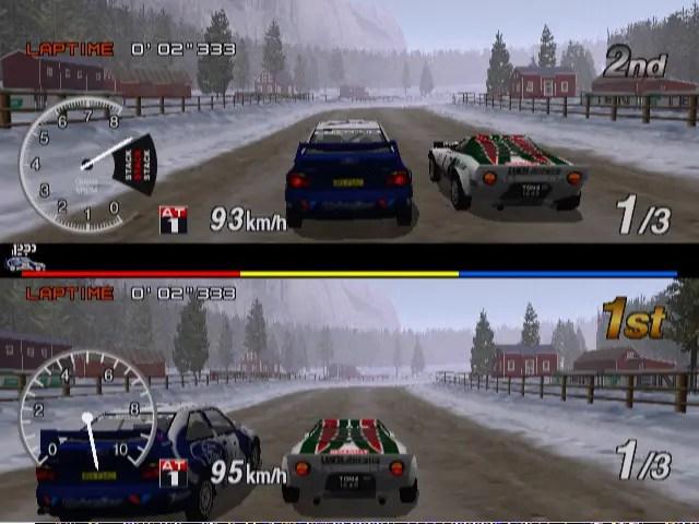 Platform Racing Game Reviews Sega Rally 2