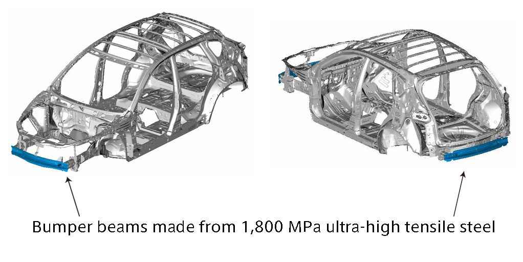 Mazda CX-5 Introduces 1,800 MPa Ultra-Strong High Tensile