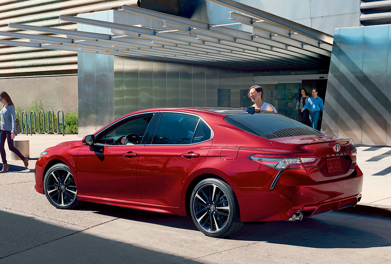 all new camry hybrid 2018 jual head unit grand veloz toyota in fort pierce fl serving okeechobee s powerful shape and captivating style will announce your arrival with authority the muscular is defined by a pleasing blend of