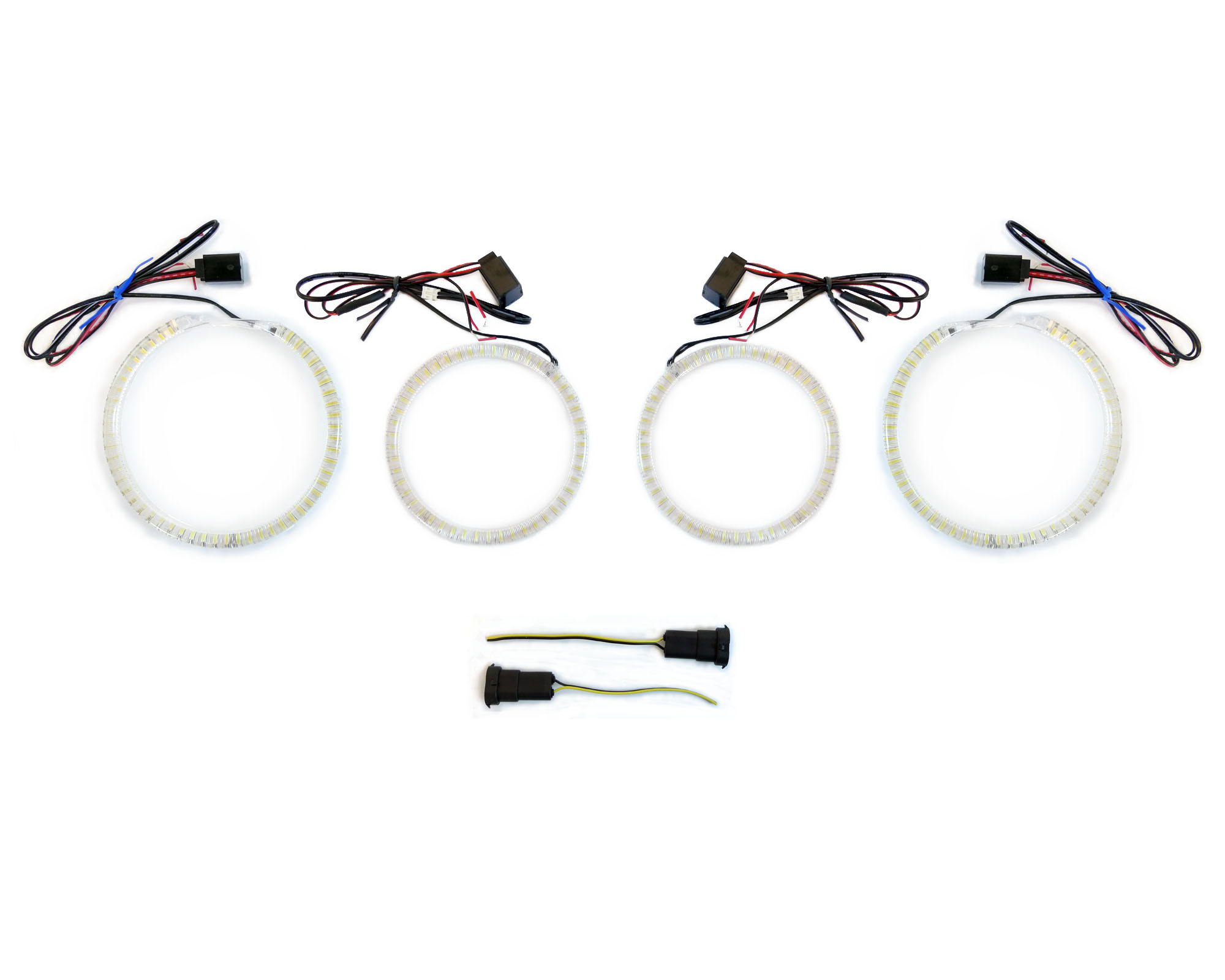 Brightest Uhp Led Angel Halo Rings Kit For E92