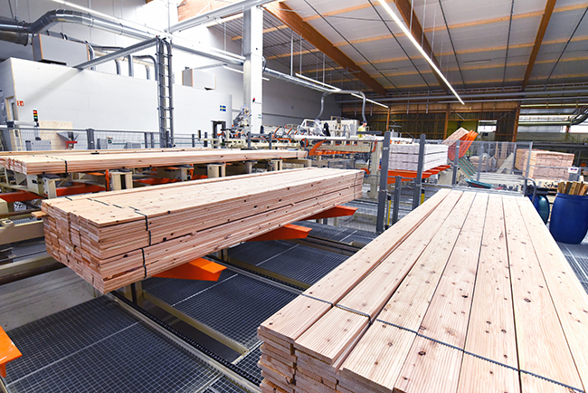 variable speed drives automation in sawmills