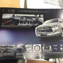 Forum All New Kijang Innova Agya 1.2 A/t Trd Toyota Crysta Launched Priced Rs 13 83 Lacs The Brosur Tipe G