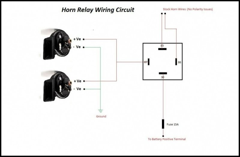 3 Pin Horn Relay Wiring Diagram Database