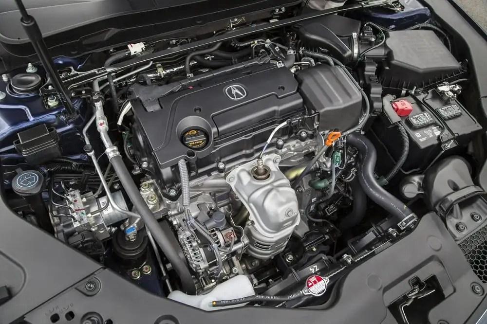 2016 Acura TLX Exterior L4.