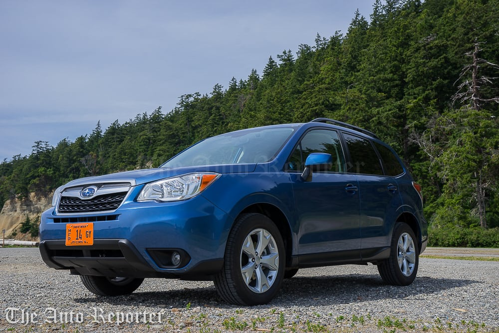2016 subaru forester review the auto reporter. Black Bedroom Furniture Sets. Home Design Ideas