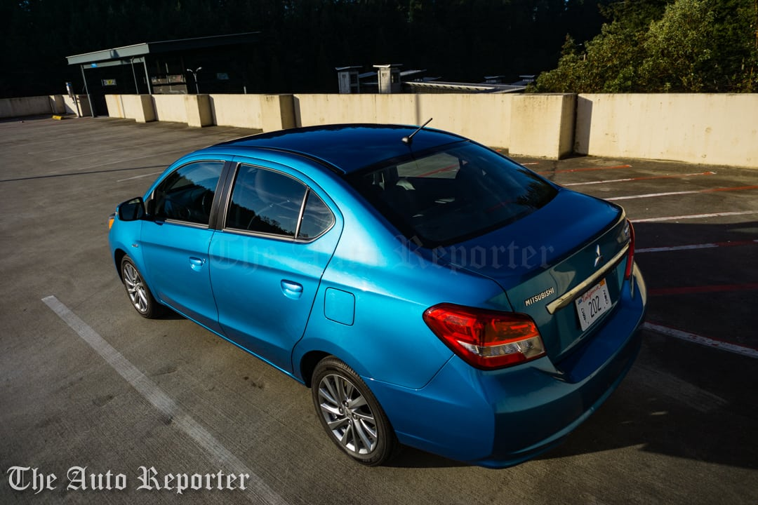2017 Mitsubishi Mirage G4 SE sedan _ 06