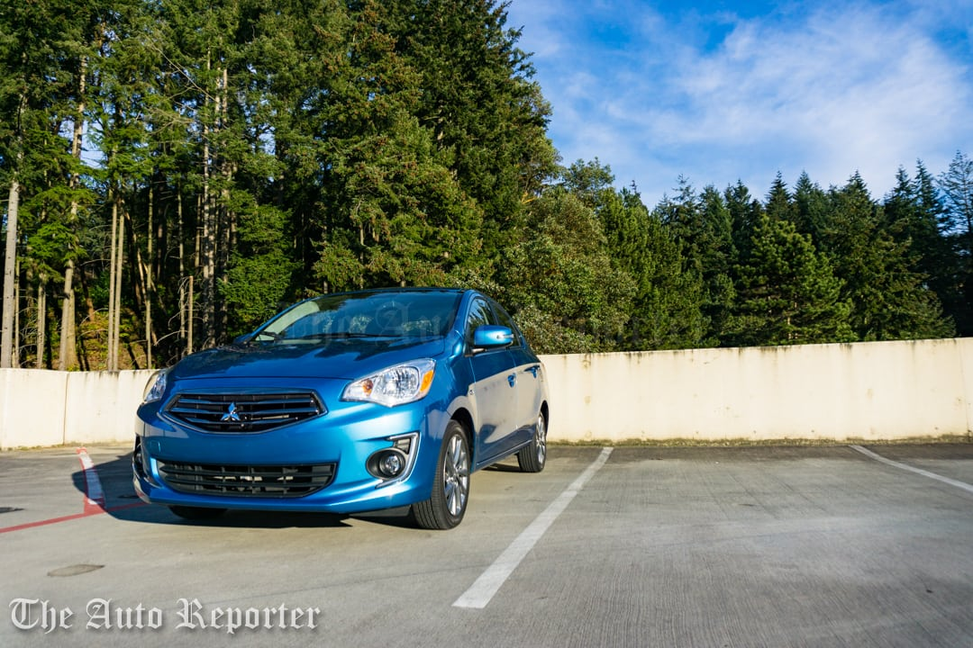 2017 Mitsubishi Mirage G4 SE sedan _ 07