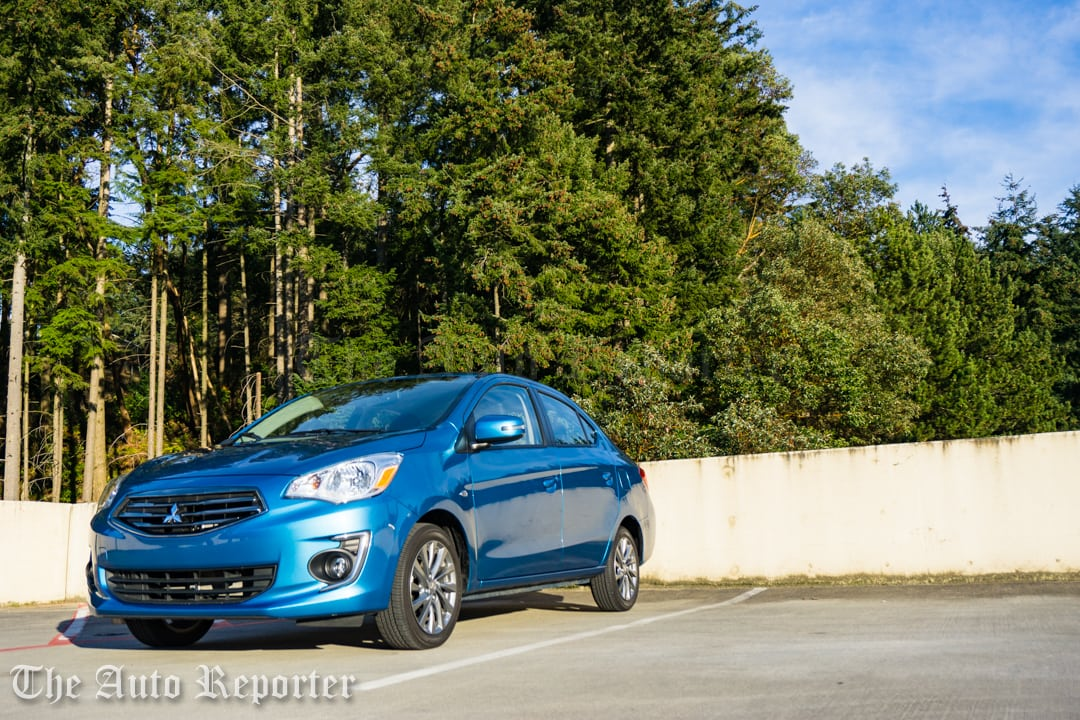 2017 Mitsubishi Mirage G4 SE sedan _ 16