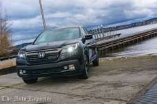 The Auto Reporter - 2017 Honda Ridgeline Black Edition