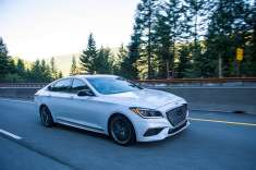 2017 Run to the Sun _ Genesis G80 Sport 2