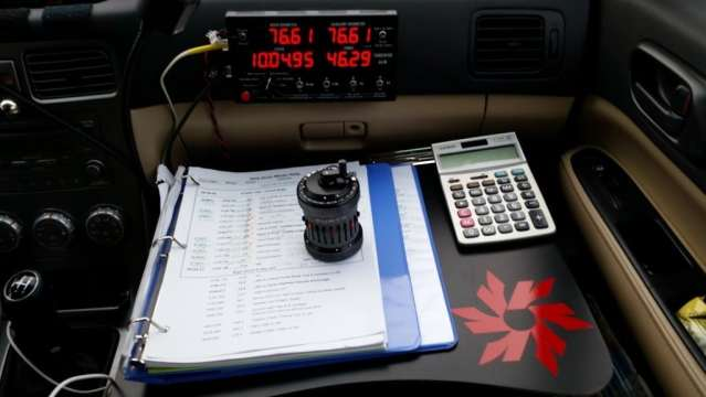 A navigator's office for 9 days.