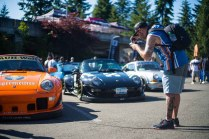 Porsche cars at the 2018 Seattle StanceWars.