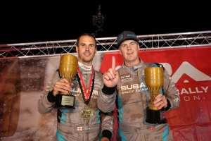 David Higgins and Craig Drew Capture 2018 American Rally Association Championship (PRNewsfoto/Subaru of America, Inc.)