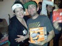 Photo of Garret Rodriguez taken during Christmas at Katrina LeBlanc's home.