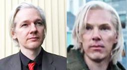 Assange, Cumberbatch