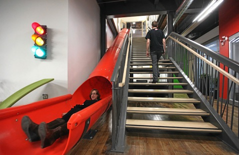 Google Office Slide, Kitchener, Ontario