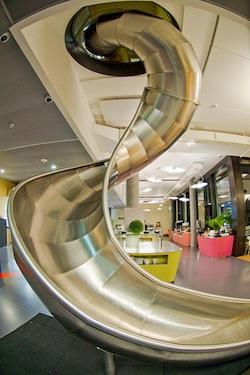 Google Office Slide, Zurich, Switzerland