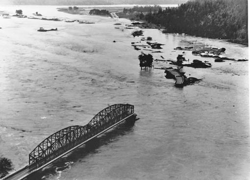 Eel River at Rio Dell, 1964