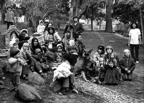 Cesar with La Paz kids