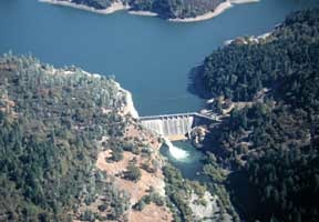 Scott Dam, forming Lake Pillsbury [photo courtesy eelriver.org]