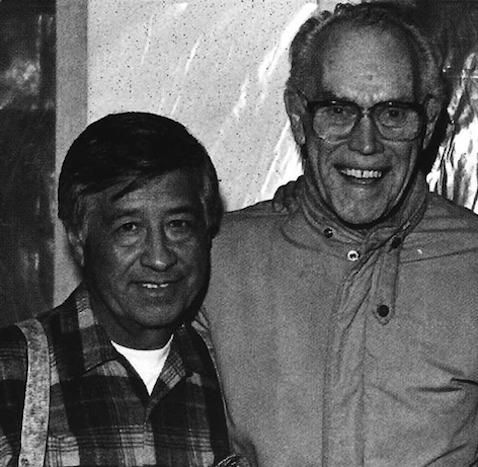 Cesar Chavez and Fred Ross