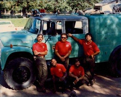 Bartlett Flats crew, Pat on left